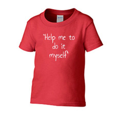 Me do it Toddler Short Sleeve T-shirt