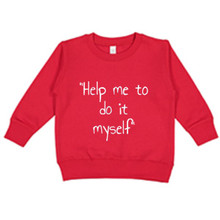 Me do it Sweatshirt