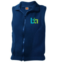 BIA full zip fleece vest