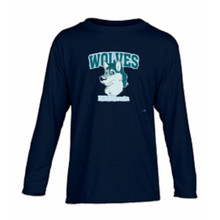 Cotton long sleeve lower campus Spirit T