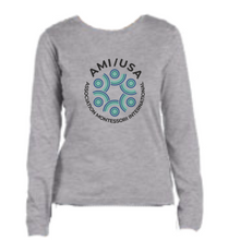 Official AMI_USA Long Sleeve female-fit T-shirt