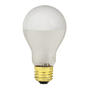 Incandescent Silver Bowl Bulbs