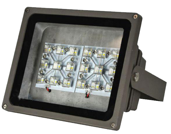LED flood light outdoor fixture
