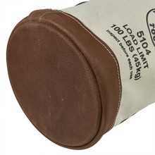 Klein Tools 5104 Leather-Bottom Bucket