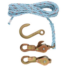 Klein Tools 1802-30SR Block and Tackle Spliced to 268 Block