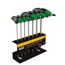 "Klein Tools JTH67T 6"" Torx® T-Handle Set with Stand 7 Pc"