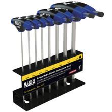 "Klein Tools JTH98M 9"" Metric Journeyman T-Handle Set 8 Pc"