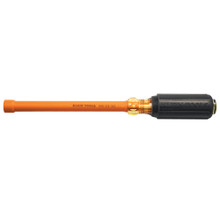 "Klein Tools 646-3/16-INS Insulated 3/16"" - 6"" Nut Driver, Hollow Shaft"