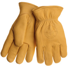 Klein Tools 40016 Cowhide Gloves with Thinsulate™ Medium