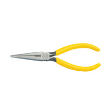 "Klein Tools D203-7 7"" Long Nose Pliers Side-Cutting"
