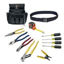 Klein Tools 92003 12 Piece Electrician Tool Set