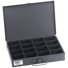 Klein Tools 54438 Mid-Size 16-Compartment Storage Box