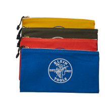 Klein Tools 5140 Canvas Bag 4 Pk Olive/Orange/Blue/Yellow