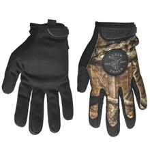 Klein Tools 40208 Journeyman Camouflage Gloves, size M
