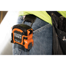 Klein Tools 86375 7.5 M Double Hook Magnetic Tape Measure