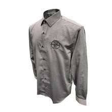 Klein Tools MBA00035-2 Mens Long Sleeve Shirt Gray, L