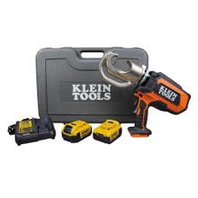 Klein Tools BAT20-12T1651 Battery-Operated 12-Ton Crimper Kit