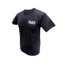 Klein Tools MBA00044-4 Hanes® Tagless® T-Shirt Black, XXL
