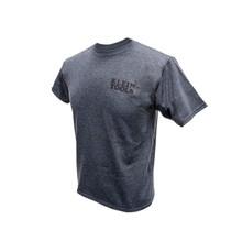 Klein Tools MBA00042-5 Hanes® Tagless® T-Shirt Gray, XXXL