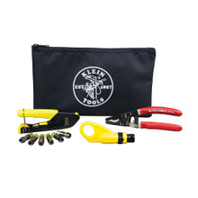 Klein Tools  VDV026-211  Coax Cable Installation Kit with Zipper Pouch