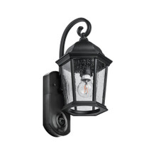 Maximus Video Security Camera & Outdoor Light - Coach Black - Compatible with Alexa
