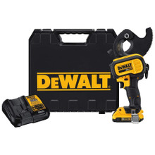 DeWalt DCE155D1 20V MAX* Cordless ACSR Cable Cutting Tool Kit