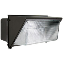 Halco 99918 WP4/CL120BZ50/LED 99918 LED Large Wallpack 120-277 Dimmable 120W 5000K Bronze Finish