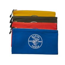 Klein Tools  5140 Canvas Bag 4 Pk Olive/Orange/Blue/Yellow