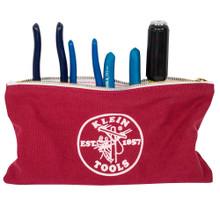 Klein Tools  5141 Canvas Bag 4 Pk Brown/Black/Gray/Red