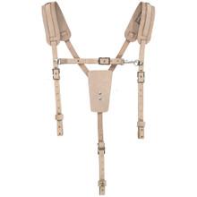 Klein Tools  5413 Soft Leather Work Belt Suspenders