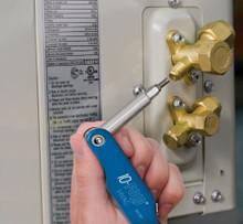 Klein Tools  32534 Schrader® Valve Core Screwdriver 10 Fold