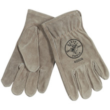 Klein Tools  40006 Cowhide Driver's Gloves, Large