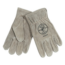 Klein Tools  40007 Cowhide Driver's Gloves - Extra-Large