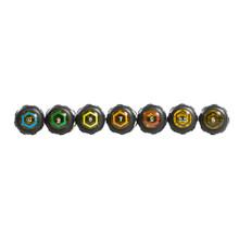 Klein Tools  65160 Nut Driver Set, Metric, 3-Inch Shafts, 7-Piece