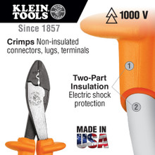 Klein Tools  1005-INS Insulated Crimping/Cutting Tool
