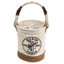 Klein Tools  5104MINI Mini Leather-Bottom Bucket