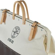 Klein Tools  5105-20 High-Bottom Canvas Tool Bag, 20-Inch