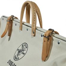 Klein Tools  5105-24 High-Bottom Canvas Tool Bag, 24-Inch
