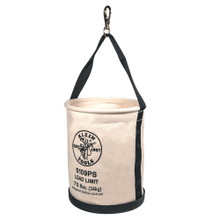 Klein Tools  5109PS Wide Straight Wall Bucket with Pocket/Snap