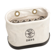 Klein Tools  5144B Aerial Basket Oval Bucket with 15 Interior Pockets