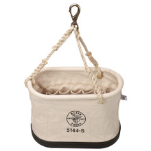 Klein Tools  5144S Oval Bucket with 15 Interior Pockets