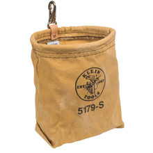 Klein Tools  5179S Water-Repellent Canvas Pouch with Snap