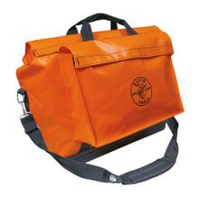 Klein Tools  5181ORA Vinyl Equipment Bag, Orange, Large