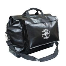 Klein Tools  5182BLA Large Equipment Bag, Black Vinyl