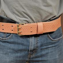 Klein Tools  5415L Heavy-Duty Embossed Tool Belt, Large