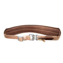 Klein Tools  5426M Padded Leather Quick-Release Belt, Medium
