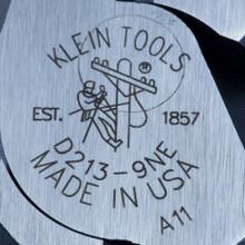 Klein Tools  D213-9NE Lineman's Pliers, New England Nose, 9-Inch
