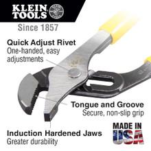 Klein Tools  D502-12 Pump Pliers, 12-Inch