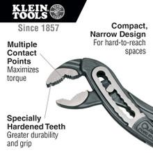Klein Tools  D504-7 Classic Klaw™ Pump Pliers, 7-Inch