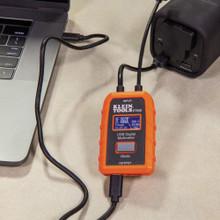 Klein Tools  ET920 USB Digital Meter, USB-A and USB-C